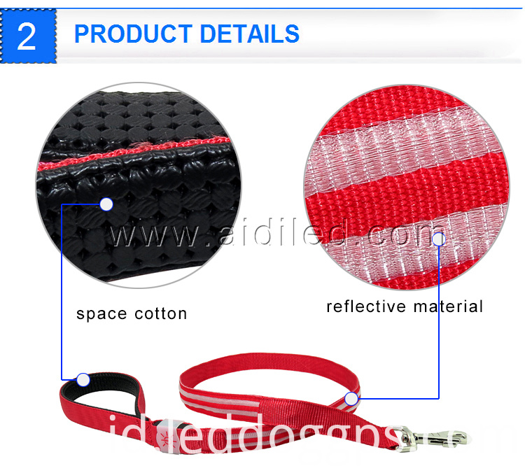 Premium Led Dog Leash