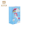 Cute Cartoon Design Printing Decorate Goodie Packing Party Favor Kids Gift Paper Bags For Birthday