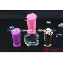 Стеклянная бутылка для ногтей уникальной формы Apple