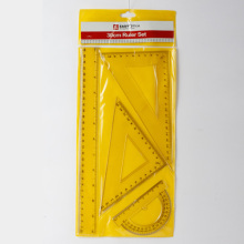 Yellow Office Rulers Set