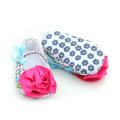 Fancy Skidproof Pattern Baby Dress Shoes