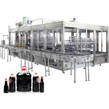 Glass Bottle Automatic Liquid Filling Machine For Edible Oil, Soy Sauce