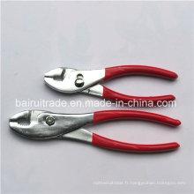 Pince à joint glissante bon marché de la Chine 8 pouces avec la poignée de PVC