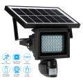 Solar powered CCTV IP PIR lamp HD cameras wireless with LED floodlight