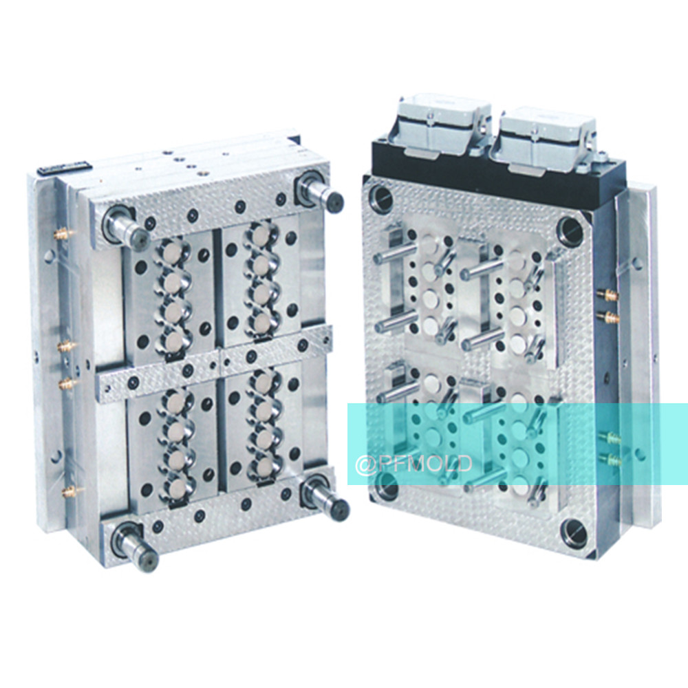 Injection mold for plastics frame electronic products