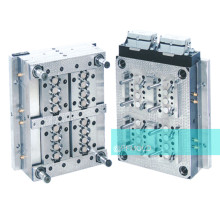 High precision multi-cavity injection mold