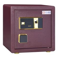 Banco utilizado caja de seguridad muebles bloqueo de huella dactilar caja segura caja de almacenamiento de acero completo caja segura