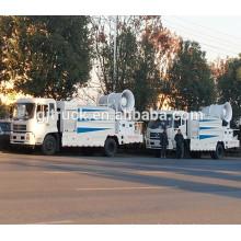 Camión de agua de Dongfeng / camión del tanque de agua / camión del aerosol de agua / control remoto camión de niebla de niebla 10-120meter