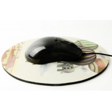 High Quality 5mm Thickness Round Mouse Pad (Dia: 200mm)