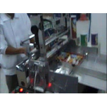 Hot Melt Glue Paper Can Tube Core Labeling Wrapping Machine