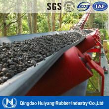 Correia transportadora de borracha resistente a óleo mineral de mineração de carvão