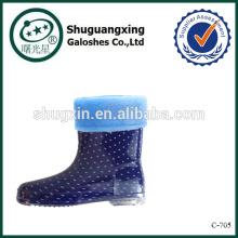 Платье обуви дождь охватывает для детей дождя сапоги фабрика зимние/C-705