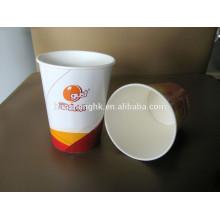 Copo de papel de café de 480/210 ml