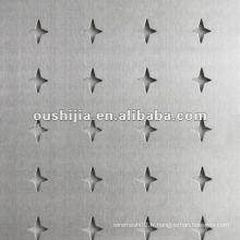 Maillage perforé à l'aluminium