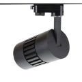 30W 4 Wire CREE XP-E Black Track Lighting