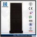 Porta de madeira durável e acessível Fangda 6 painel Design PVC MDF