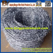 Alta calidad con el alambre de púas del buen precio de Prety