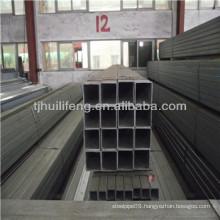 Galvanized square pipe steel tube