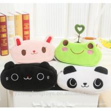 Cute plush toy pencil case animal pencil bag