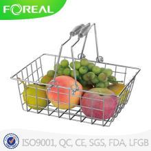 Cesta de frutas de fio de metal inteligente