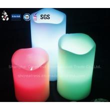 Gros LED bougies électriques clignotantes