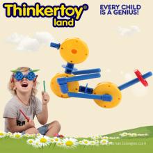 Lovely Ducks modelo de juguetes educativos Bloques de construcción para niños