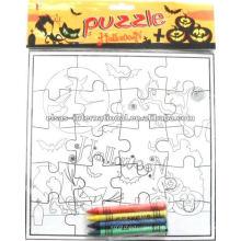 Pintura jogo de quebra-cabeça educacional, Color-Me Gumby
