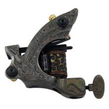 Best Quality Damascus Tattoo Machine 10Wrap