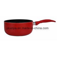 Utensilios de cocina de colores de aluminio pot caliente Pot de leche de utensilios de cocina