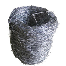 Wholesale concertina coated hot dipped electro galvanized roll price barbed wire  1.7 1.8