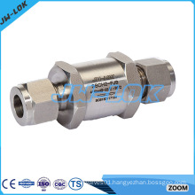 High pressure standard non-return check valve
