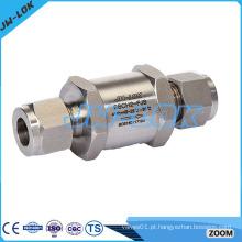 Válvula de retenção padrão de alta pressão sem retorno