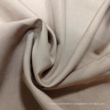 Tissu de sarcelle anti-crepe en coton / polyester en caoutchouc