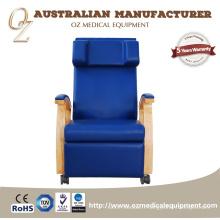 Qualité médicale australienne fabricant ISO 13485 chaise d'infusion professionnelle sang transfusion canapé sang Donation chaise