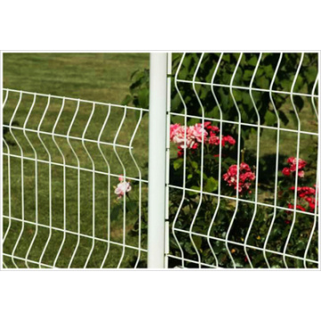 Gartenzaun mit PVC-Beschichtung