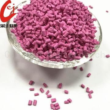 Best Price for for Cable Plastic Masterbatch Granules Pink Non-halogen Cable Masterbatch Granules export to Portugal Supplier