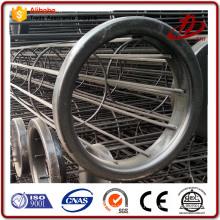Power plant Acero inoxidable Buena calidad Filtro Bolsa Cage Con Venturi para colector de polvo de aire