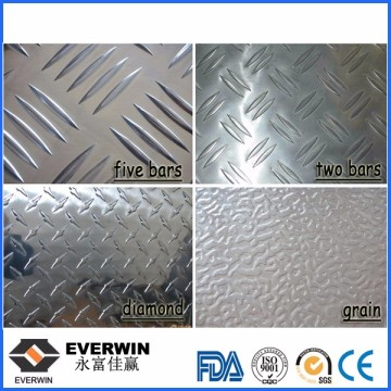 Aluminium Check Plate Embossed Aluminum Sheet Low Price