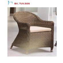 Chaise de salle à manger ronde en rotin de loisirs vente chaude avec coussin (CF1244C)