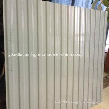 Revêtement extérieur de mur de PVC de protection contre la corrosion / panneau de mur