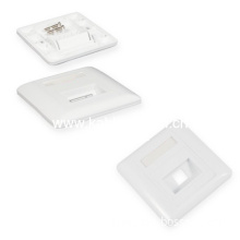 Plastic Panel For Fiber Coupler 86 Type Wall Outlet Faceplate