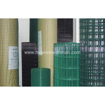 Powder coated welded wire mesh