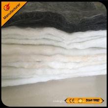 Glass Fiber\fiberglass needle mat for heat insulation