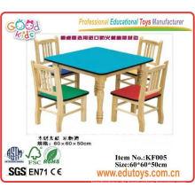 Kindergarten und Stuhl