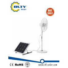 DC Solar Power Fan with Remote Control and Solar Panel