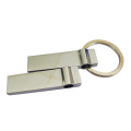 Metal Slim Mini Pen Drive with Chain