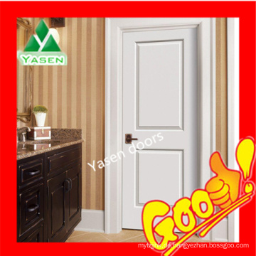 Top China HDF geformte Tür weiß MDF Tür