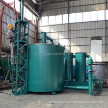 Higher charcoal production rate wood charcoal making machine carbonization stove