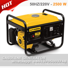 100% copper wire 2.5 kw gasoline generator set with CE and GS