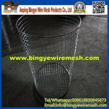Cesta de lixo / poeira (processamento de malha soldada)